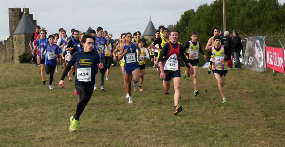 Résultats des courreurs du RAC au cross de Carcassonne
