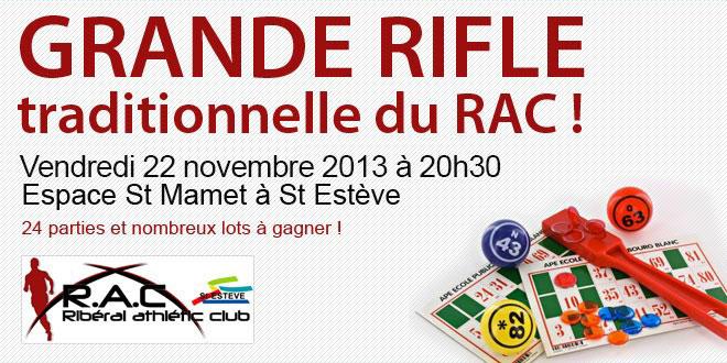 Rifle RAC ST ESTEVE 2013
