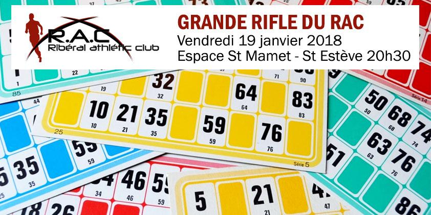 Grande Rifle du RAC 2018 !