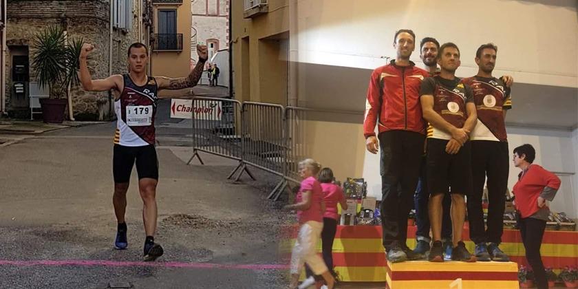 Des podiums pour le RAC à Maureillas et au Maratrail Catalan