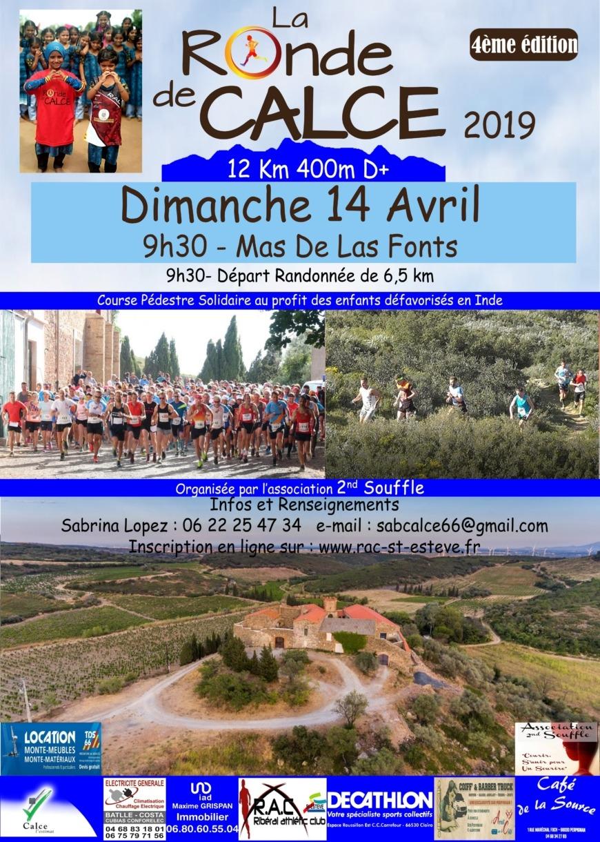Affiche 2019 Ronde de Calce